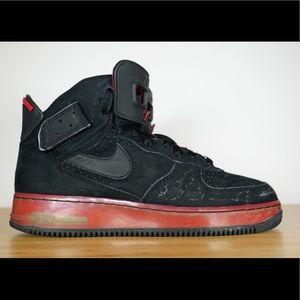 Nike Air Jordan Fusion 6 Black/Varsity Red AJF 6